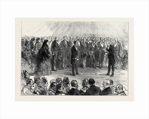 The Majority of the Prince Imperial: The Duc De Padoue Reading the Address at Camden Place Chiselhurst 1874 by Anonymous