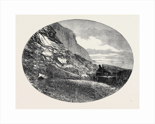 The Fallen East Cliff, at Hastings, 1852 by Anonymous