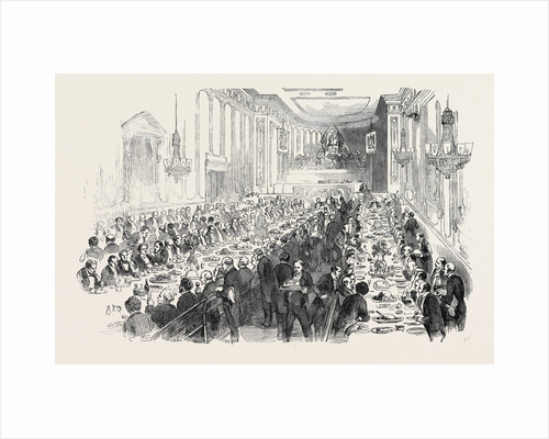 Dinner at Dee's Hotel, Birmingham, to Celebrate the Passing of the Patent Law Amendment Act, 1852 by Anonymous