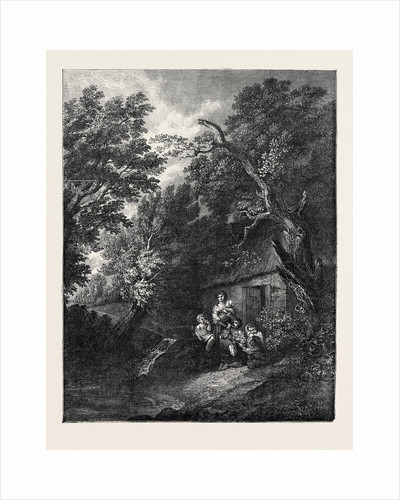 The Cottage Door by Anonymous
