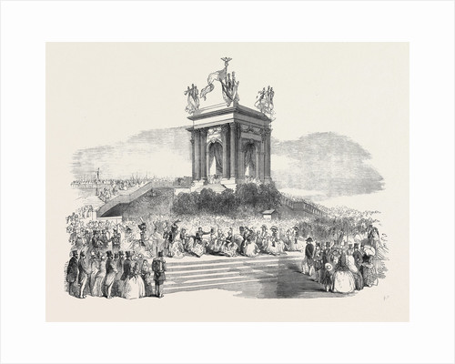 The French President's Tour: The President at Montpellier, La Danse Du Chevalet, 1852 by Anonymous