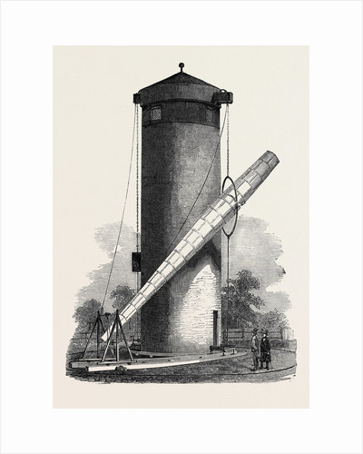 Gigantic Telescope, Called the Craig Telescope, Just Erected at Wandsworth Common, 1852 by Anonymous