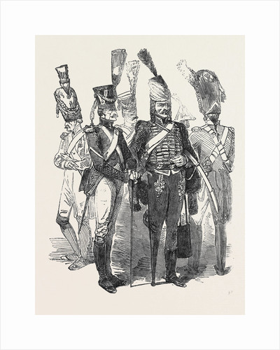 Old Soldiers of the French Empire, 1852 by Anonymous