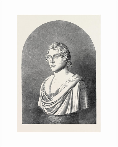 Bust of Lord Byron, 1852 by Anonymous