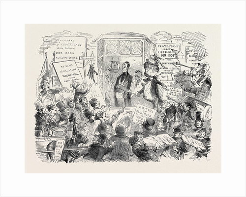 The Rejected Candidate, 1852. Charles Dickens by Anonymous