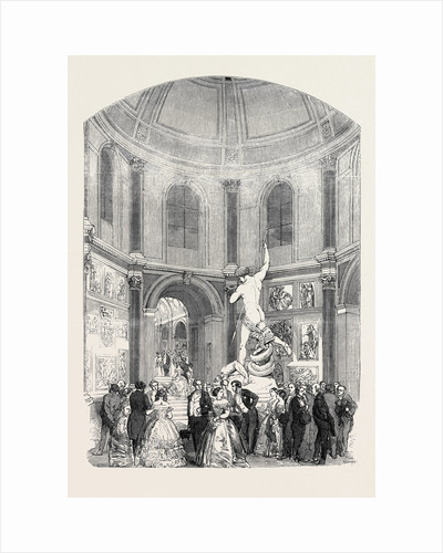 Soiree of the Suburban Artisan Schools, in the Flaxman Hall, University College, 1852 by Anonymous
