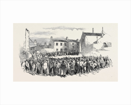 The Riot at Stockport: St. Peter's Schools, and Alderman Graham's House, 1852 by Anonymous