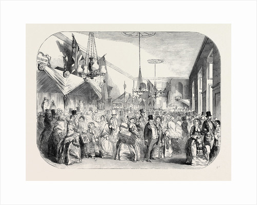 Grand Fancy Bazaar in Greenwich Hospital, in Aid of the Queen Adelaide Naval Fund, 1852 by Anonymous