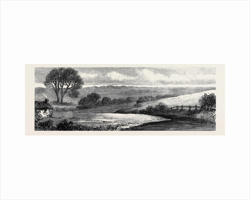 In the Meath Hunting Country: Near Ashbourne Where the Ward Union Hounds Are Kept Ireland 1879 by Anonymous