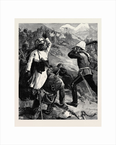 The Afghan War: An Incident in the Battle of Futtehad April 2 1879 by Anonymous