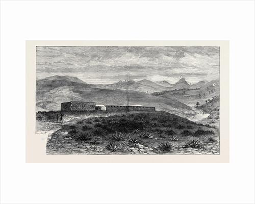 The Zulu War: Fort Melvill Near Isandhlwana by Anonymous