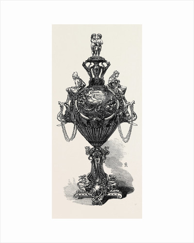 Centrepiece of a Service of Plate for a Bombay Merchant, 1867 by Anonymous