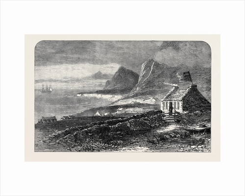 The Island of Tristan D'Acunha South Atlantic Ocean Lately Visited by Prince Alfred in H.M.S. Galatea 1867 by Anonymous