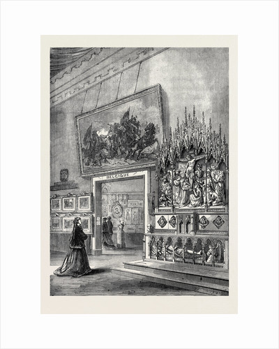 The Paris International Exhibition: Exhibition of Fine Arts in the Belgian Section France 1867 by Anonymous