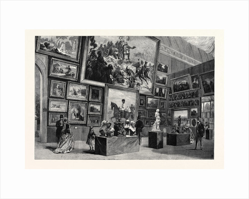 Exhibition of Fine Arts in the Austrian Section of the Paris International Exhibition France 1867 by Anonymous