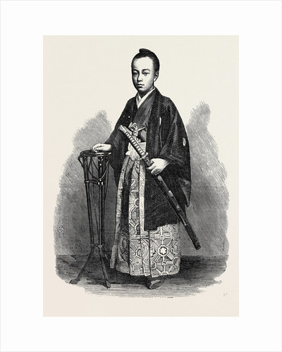 Prince Tokugawa Minbutaiho Brother of the Tycoon of Japan 1867 by Anonymous