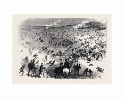 The Volunteer Review at Brighton: An Incident at the Review: Starting a Hare UK 1866 by Anonymous