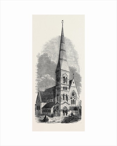St. Andrew's (Formerly All Saints') Church Camberwell UK 1866 by Anonymous