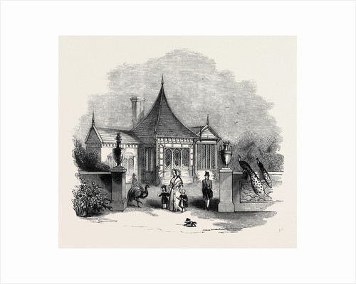 The Chinese Summer-House, Buckingham Palace Gardens. by Anonymous
