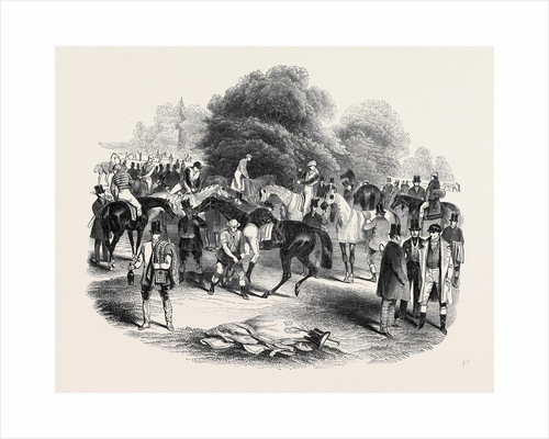 Epsom Races, View of the Warren by Anonymous