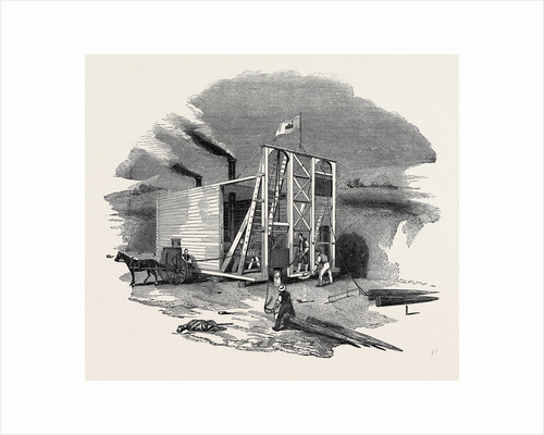 Patent American Steam Pile Driving Engine by Anonymous