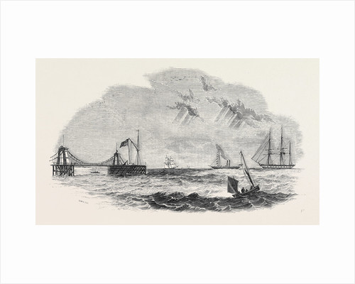 The John O'Gaunt Being Towed to Destruction by Anonymous