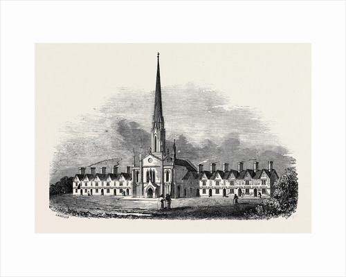 New Alms-Houses at Northfleet by Anonymous