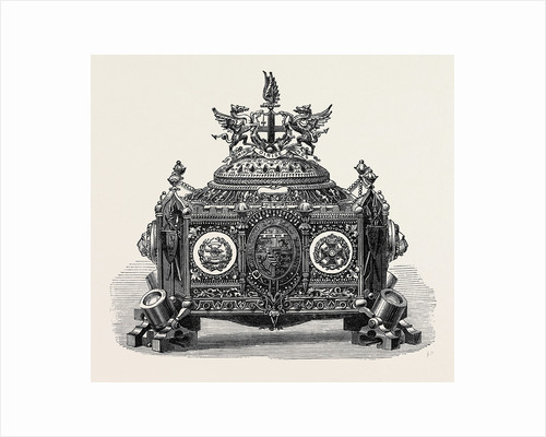 Casket Presented to Prince Arthur with the Freedom of the City of London 1871 by Anonymous
