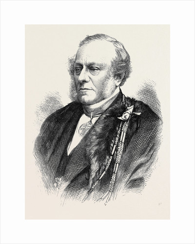 The Late Alderman Sir F.G. Moon 1871 by Anonymous