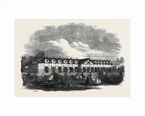 New Antelope House in the Gardens of the Zoological Society Regent's Park by Anonymous