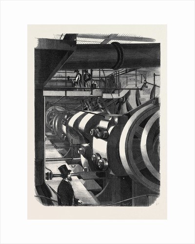 The Engines of H.M. Steamfrigate Warrior by Anonymous
