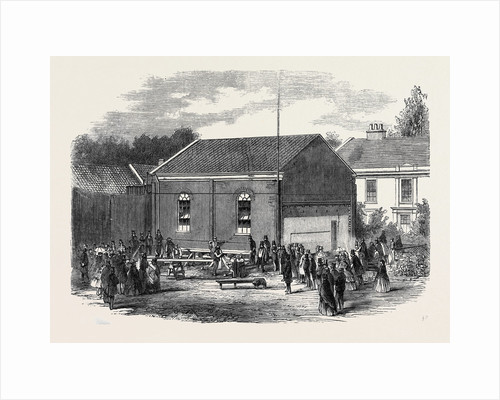 Removal of a Chapel at Melton Near Woodbridge Suffolk by Anonymous