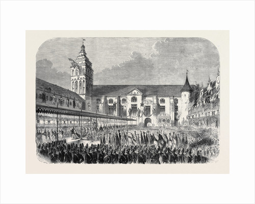 The Coronation of the King and Queen of Prussia: The Procession from the Castle Church Königsberg after the Coronation by Anonymous