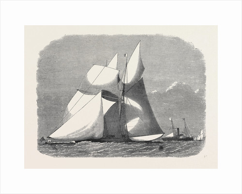 Sailing Match of the Royal London Yacht Club 1868 by Anonymous