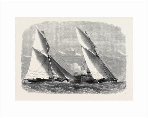 Sailing Match of the Royal Thames Yacht Club 1868 by Anonymous
