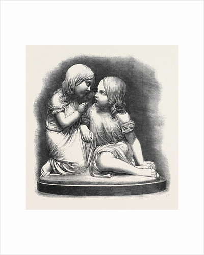 The Sound of the Shell (Sculpture), in the Exhibition of the Royal Academy 1861 by Anonymous