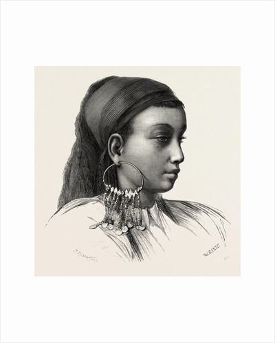 Abyssinian Slave-girl by Anonymous