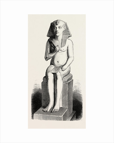 Statue of Amenophis IV by Anonymous