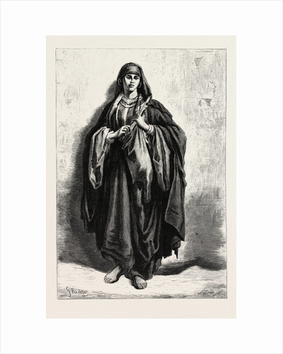 Gipsy Woman of Ghawazee by Anonymous