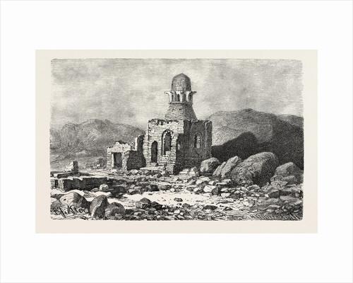 Mausoleum in the Desert Near Assouan by Anonymous