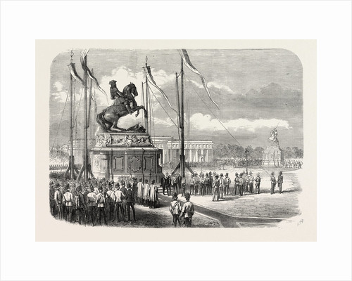 Inauguration of an Equestrian Statue of Prince Eugene at Vienna, Austria, 1865 by Anonymous
