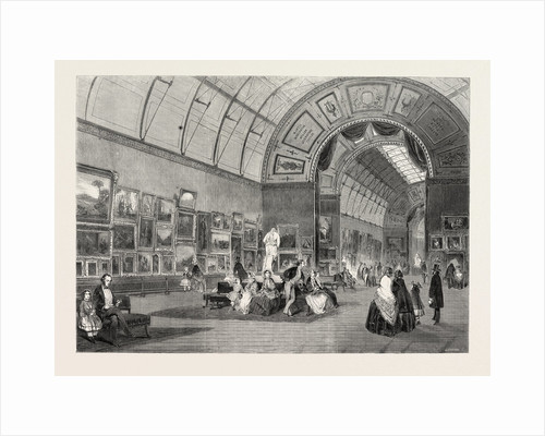 The Gallery of Modern Paintings at the Art-Treasures Exhibition, 1857 by Anonymous