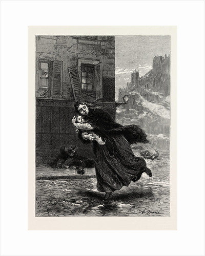 The Massacre, Firing on Women, History of Crime, Victor Hugo by Anonymous