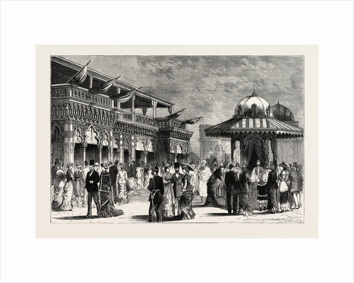 The Oriental Bazaar, the Paris Exhibition, France by Anonymous