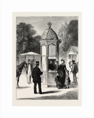 Outside the Exhibition, Where to Buy Tickets, the Paris Exhibition by Anonymous