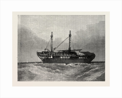 The Old Hulk, from the Old Painting by T.L. Rowbotham by Anonymous