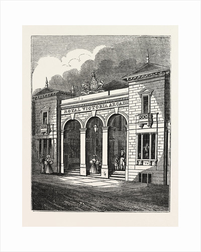 The Royal Victoria Arcade by Anonymous