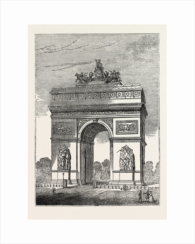 New Triumphal Arch at Paris by Anonymous