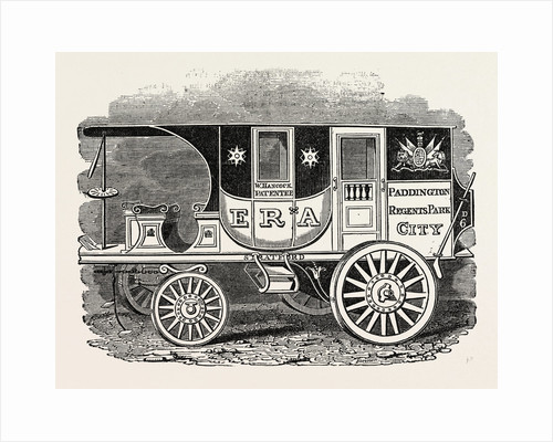 Hancock's Steam Carriage, Era. by Anonymous