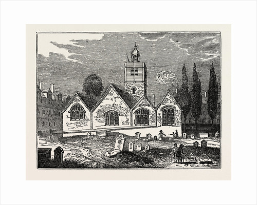 The Old Church of St. Leonard, Shoreditch by Anonymous